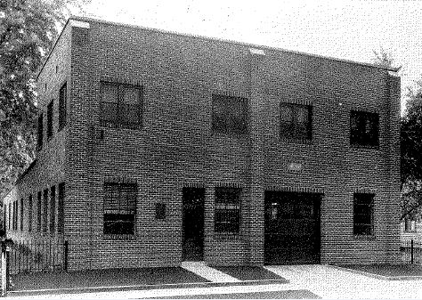 The Chicopee Water Department Garage was built in the 1930s.