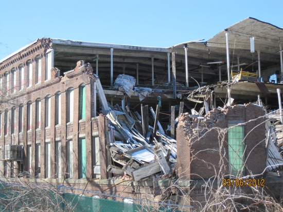 Facemate Demolition March 5, 2012 (1)
