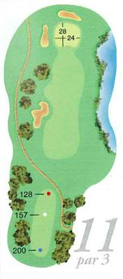 Map of Hole 11