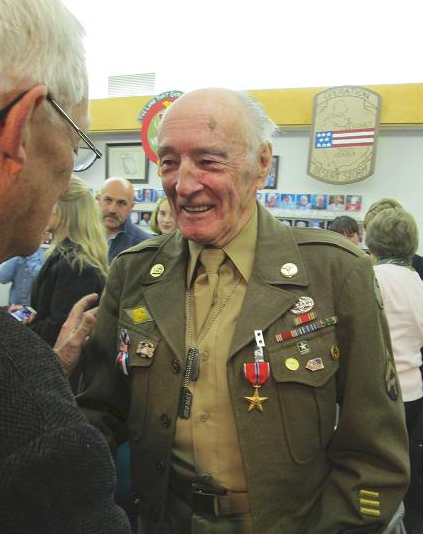 Harvey LaFleur, Recipient of the Bronze Star Medal