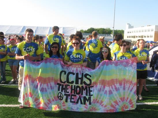 Relay Banner - CCHS The Home Team