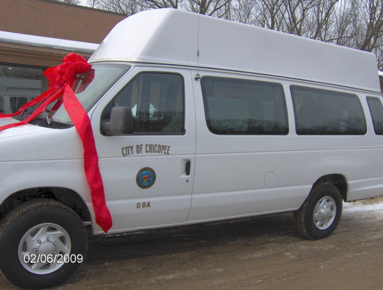 New Council on Aging wheelchair van