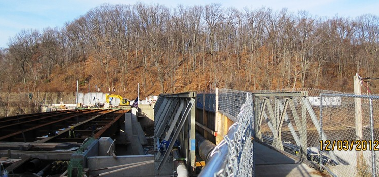 Photo of Davitt Bridge, as of December 3, 2012