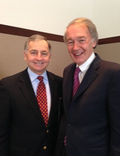 Mayor Kos Visits With Senator Edward Markey