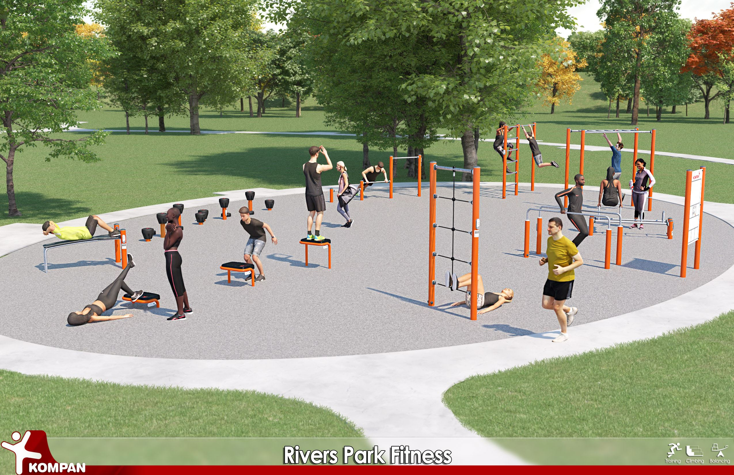 Rivers Park Fitness
