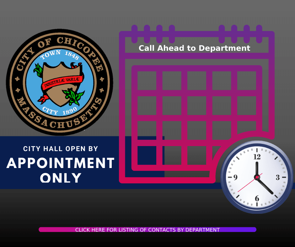 City Hall Open by Appointment Only (no message)