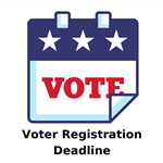 Voter Registration Deadline